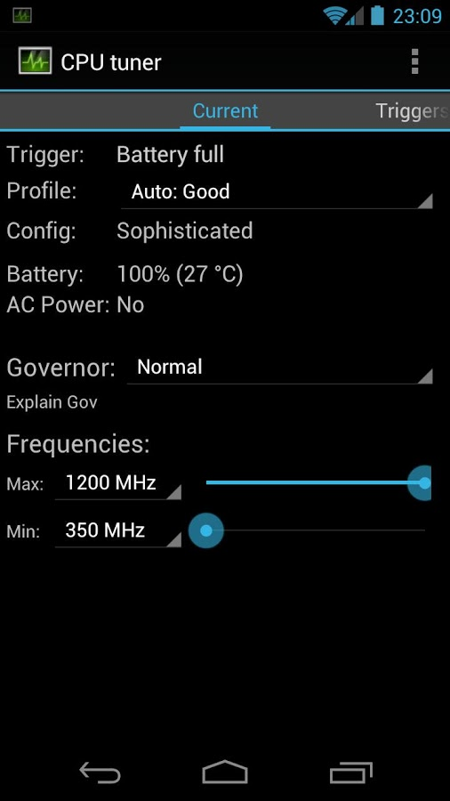 Cpu Tuner Android