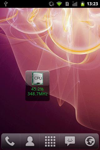 Cpu Monitor Android Widget