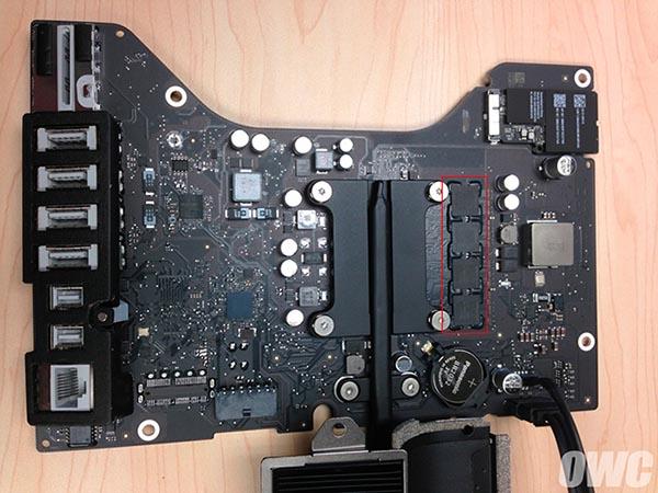 iMac memoria saldata