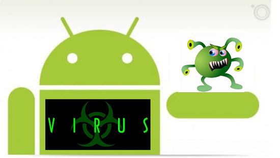 Allerta virus durante la navigazione con Android